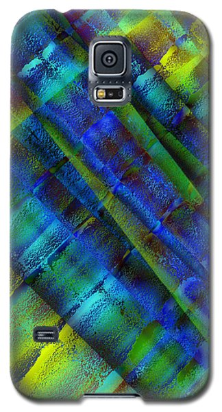 Galaxy S5 Case featuring the photograph Layers Of Blue by David Pantuso
