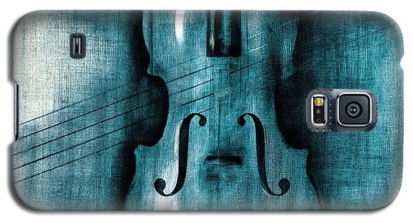 Violin Galaxy S5 Case - Le Violon Bleu by Hakon Soreide