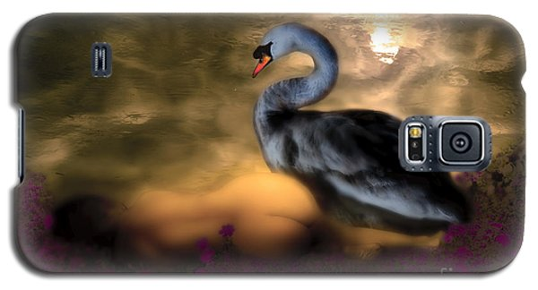 Leda And The Swan Galaxy S5 Case by Rosa Cobos