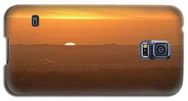 Leicestershire Sunrise Galaxy S5 Case by Linsey Williams