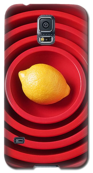 Lemon In Red Bowls Galaxy S5 Case