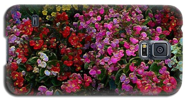 les fleurs II Galaxy S5 Case