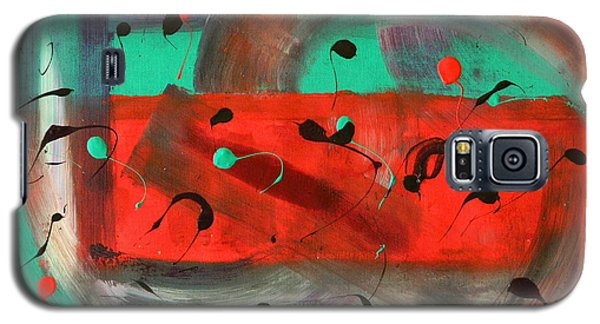 Galaxy S5 Case featuring the painting Let Me Off by Everette McMahan jr