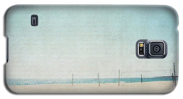 Galaxy S5 Case featuring the photograph Letters From The Beach by Lisa Parrish