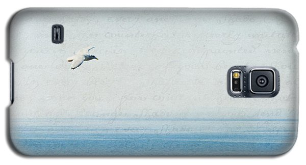 Galaxy S5 Case featuring the photograph Letters From The Sky by Lisa Parrish