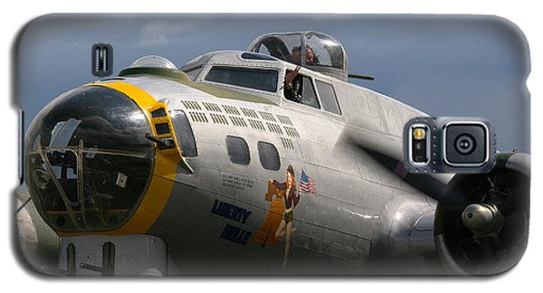 Liberty Belle B17 Bomber Galaxy S5 Case by Ken Brannen