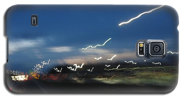 Galaxy S5 Case featuring the photograph Lights After Dusk by Maciek Froncisz