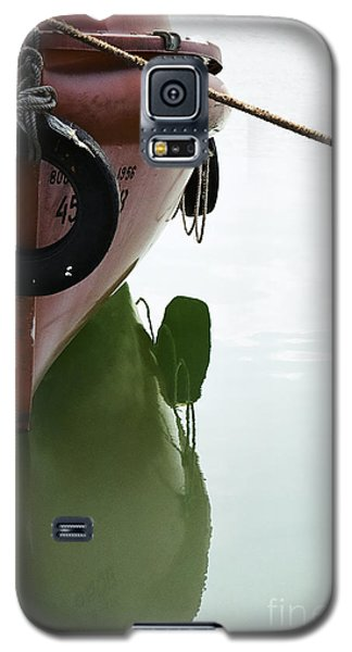 Galaxy S5 Case featuring the photograph Life-boat Reflection by Agnieszka Kubica