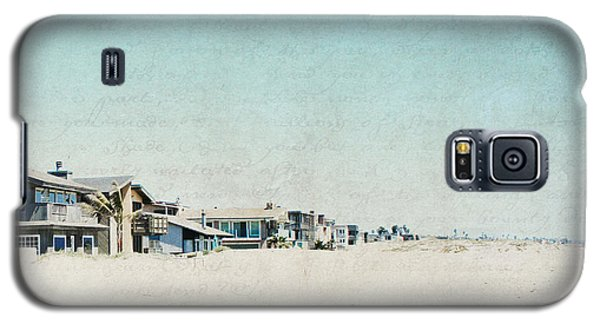 Galaxy S5 Case featuring the photograph Letters From The Beach House - Square by Lisa Parrish