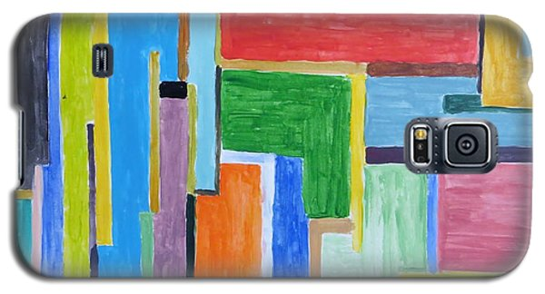 Galaxy S5 Case featuring the painting Life by Sonali Gangane