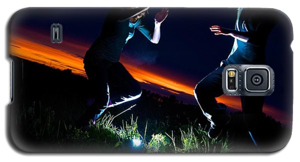 Light Dancers 1 Galaxy S5 Case by JM Photography