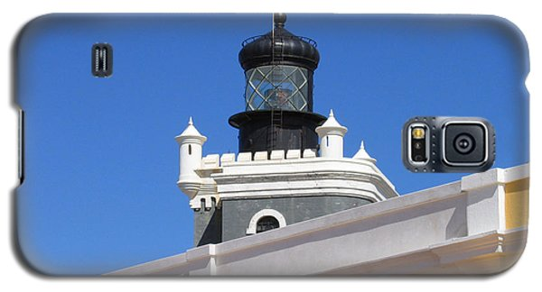 Lighthouse At Puerto Rico Castle Galaxy S5 Case