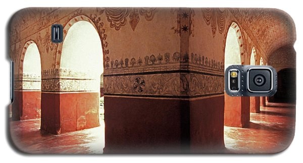 Galaxy S5 Case featuring the photograph Light Under The Arches Tepoztlan Mexico by John  Mitchell