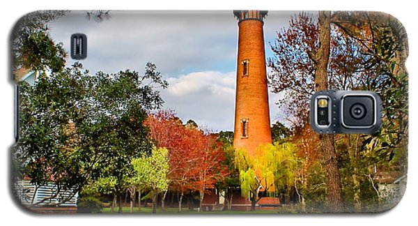 Lighthouse At Currituck Beach Galaxy S5 Case