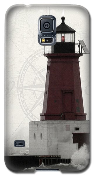 Lighthouse Compass Galaxy S5 Case