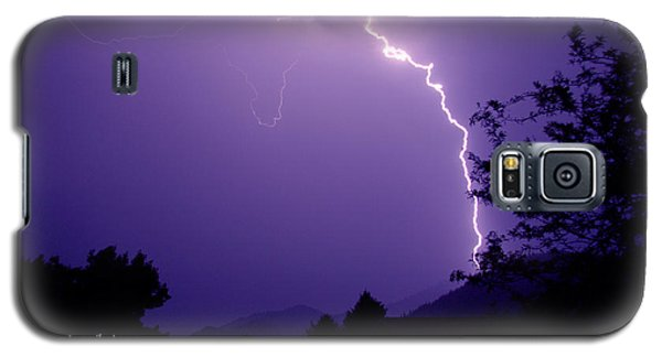 Lightning Over The Rogue Valley Galaxy S5 Case by Mick Anderson
