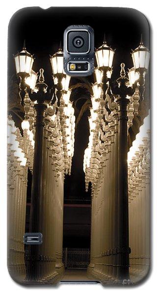 Lights In Art Exhibit In La Galaxy S5 Case