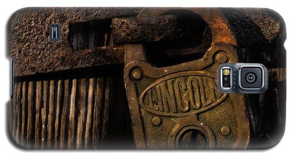 Lincoln Lock Galaxy S5 Case