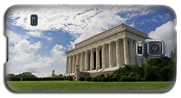 Lincoln Memorial And Sky Galaxy S5 Case