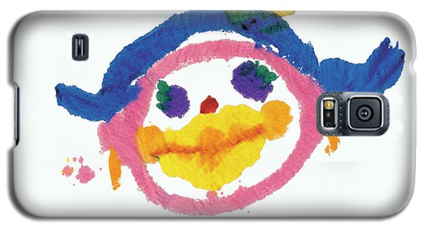 Lipstick Face Galaxy S5 Case