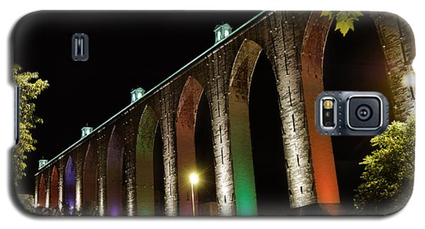 Lisbon Historic Aqueduct By Night Galaxy S5 Case