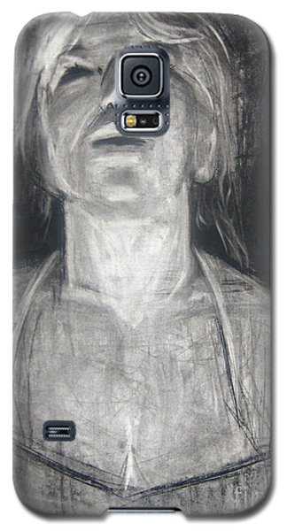 Galaxy S5 Case featuring the drawing Lit by Gabrielle Wilson-Sealy