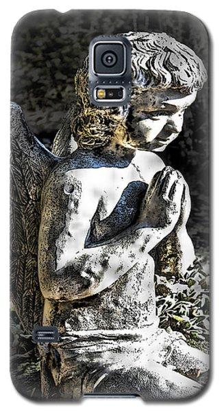 Little Angel Statue Galaxy S5 Case by Danuta Bennett