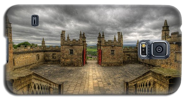 Little Castle Entrance - Bolsover Castle Galaxy S5 Case