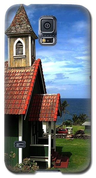 Little Green Church In Hawaii Galaxy S5 Case