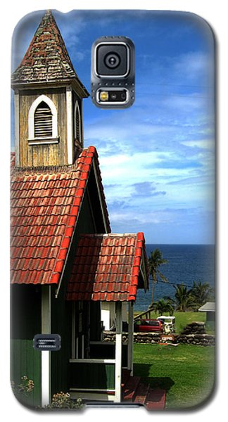 Little Green Church In Hawaii Galaxy S5 Case by Dorothy Cunningham
