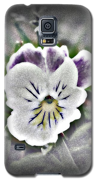 Little Pansy Galaxy S5 Case