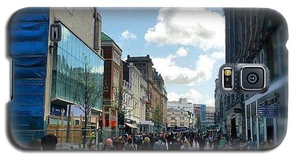 #liverpool #uk #england #street #market Galaxy S5 Case
