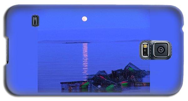 Lobstering Moon Galaxy S5 Case by Francine Frank