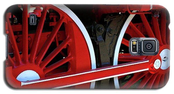 Locomotive Wheels Galaxy S5 Case