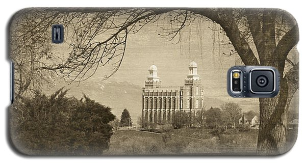 Logan Lds Temple Galaxy S5 Case