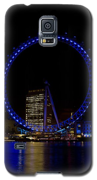 London Eye And River Thames View Galaxy S5 Case