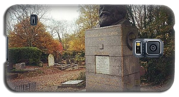 London Galaxy S5 Case - #london #karlmarx #marx #communist by Ozan Goren