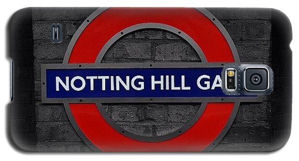 #london #nottinghillgate #underground Galaxy S5 Case