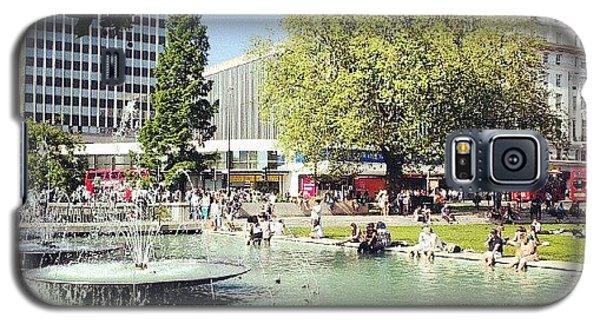 #london #water #summer #sun #hyepark Galaxy S5 Case