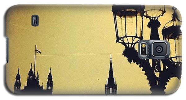 London Galaxy S5 Case - #london #westminster #londoneye #siluet by Ozan Goren