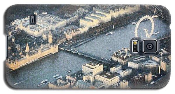 England Galaxy S5 Case - #londoneye #bigben #thetimes #river by Abdelrahman Alawwad