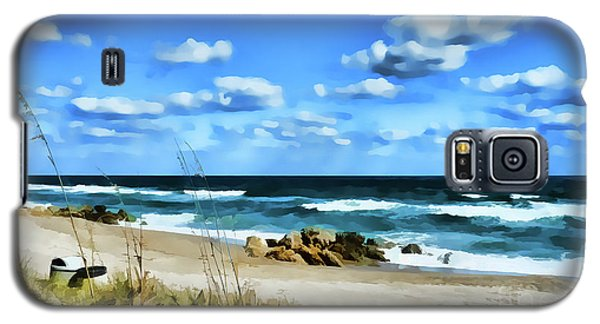 Lonely Beach Galaxy S5 Case
