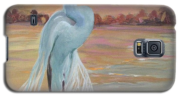 Lonely Egret Galaxy S5 Case