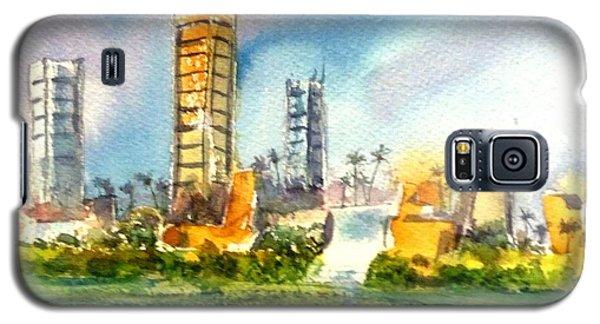 Long Beach Oil Islands Galaxy S5 Case