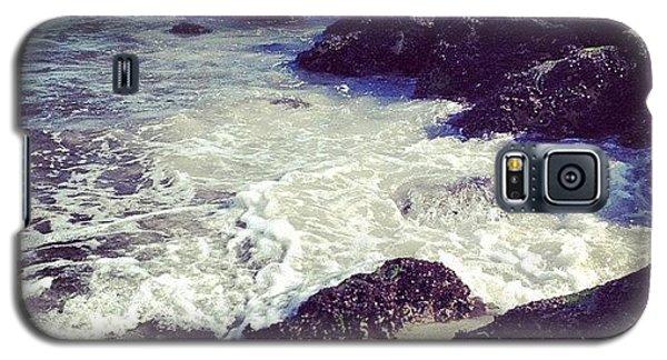 Summer Galaxy S5 Case - Long Beach by Randy Lemoine