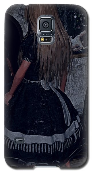 Looking Glass Alice Galaxy S5 Case