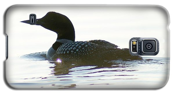 Galaxy S5 Case featuring the photograph Loon 3 by Steven Clipperton