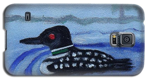Loon On Lake Winnipeaukee Galaxy S5 Case