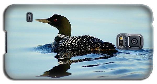 Galaxy S5 Case featuring the photograph Loon by Steven Clipperton