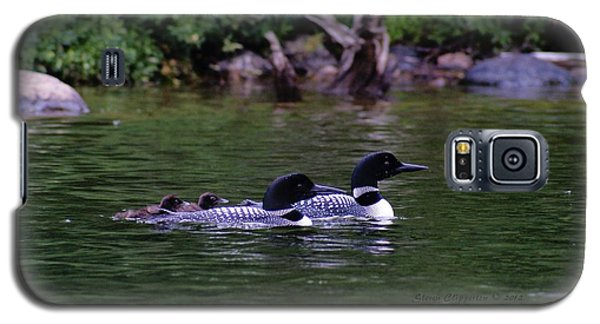 Loons With Twins 2 Galaxy S5 Case